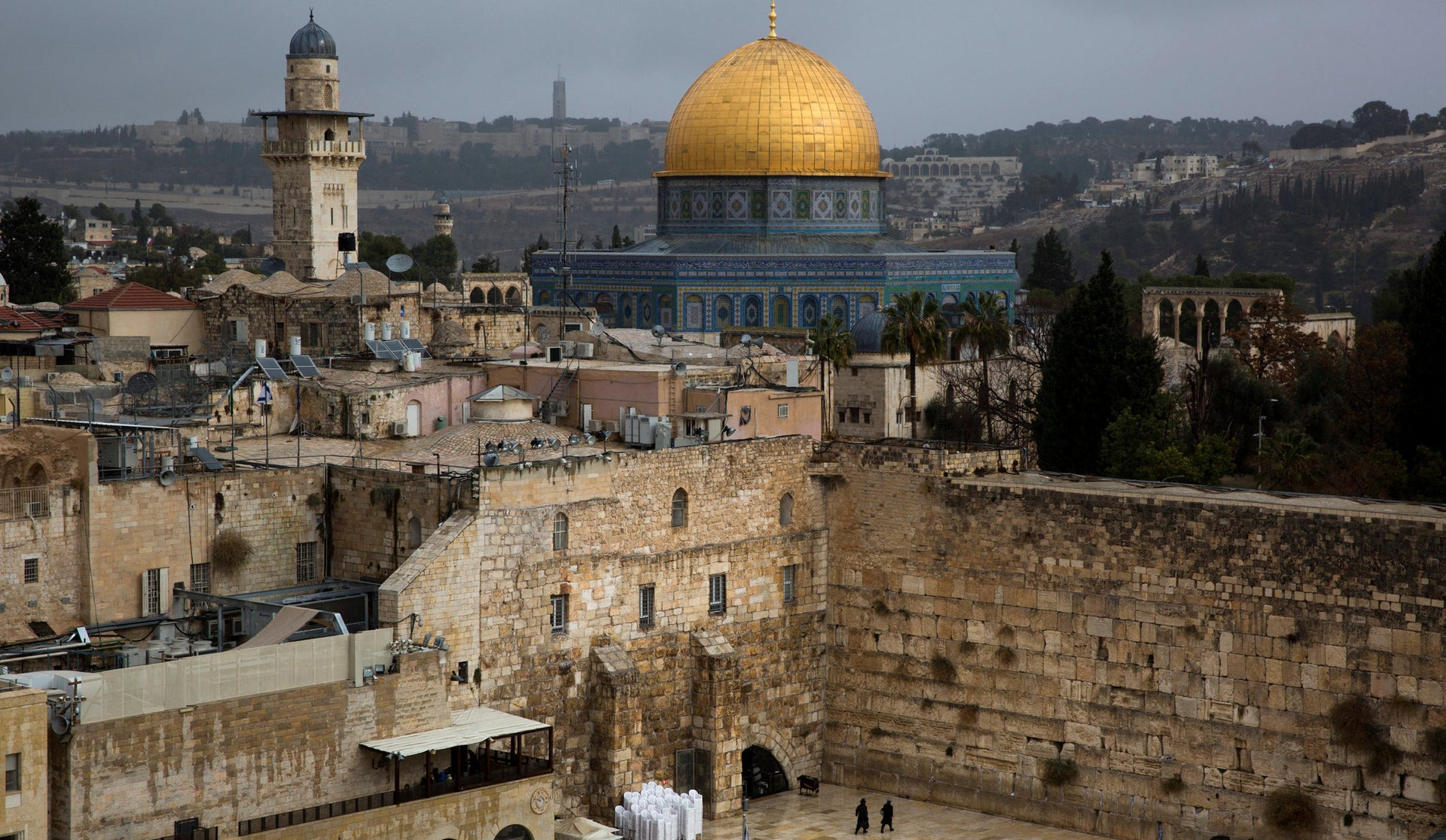 """Jerusalem aka the biggest fireworks factory in the world. Its history is explored in CNN's """"Jerusalem: City of Faith and Fury."""""""