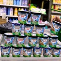A man buys Ben & Jerry's ice cream in Jerusalem, yesterday.