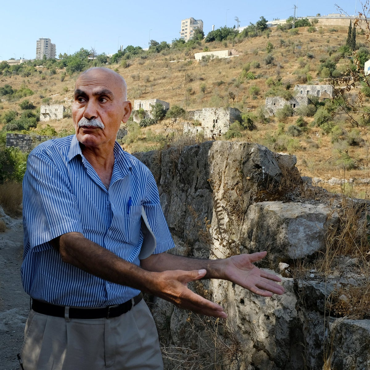 """Yacoub Odeh. """"We had been kings, and within an hour we became beggars. That's how I joined the Palestinian national movement. All my life I have dreamed of returning."""""""