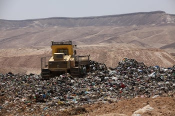 The Efeh landfill in the south.