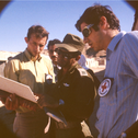 The Red Cross visit to the Abu Zenima camp in October, 1971.