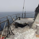 Alleged Iranian drone damage to the Mercer Street tanker in Gulf of Oman