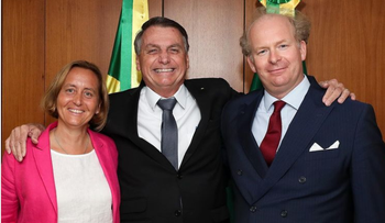 Far right AfD deputy head Beatrix von Storch's Instagram post about her 'impressive encounter' with Brazil's President Jair Bolsonaro in Brasilia and his 'clear understanding' of Europe's problems and 'the political challenges of our time'