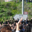 Israeli Arabs protest a surge in violence and lack of police forces in their communities, March 2021.