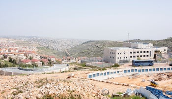 Efrat settlement, in the West Bank, in March.
