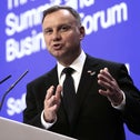 Polish President Andrzej Duda, who passed the restitution law on Saturday, provoking outrage in both Jerusalem and Washington.