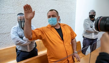 Roman Zadorov, who was convicted in 2010 and is now being retried for the murder of 13-year-old Tair Rada.
