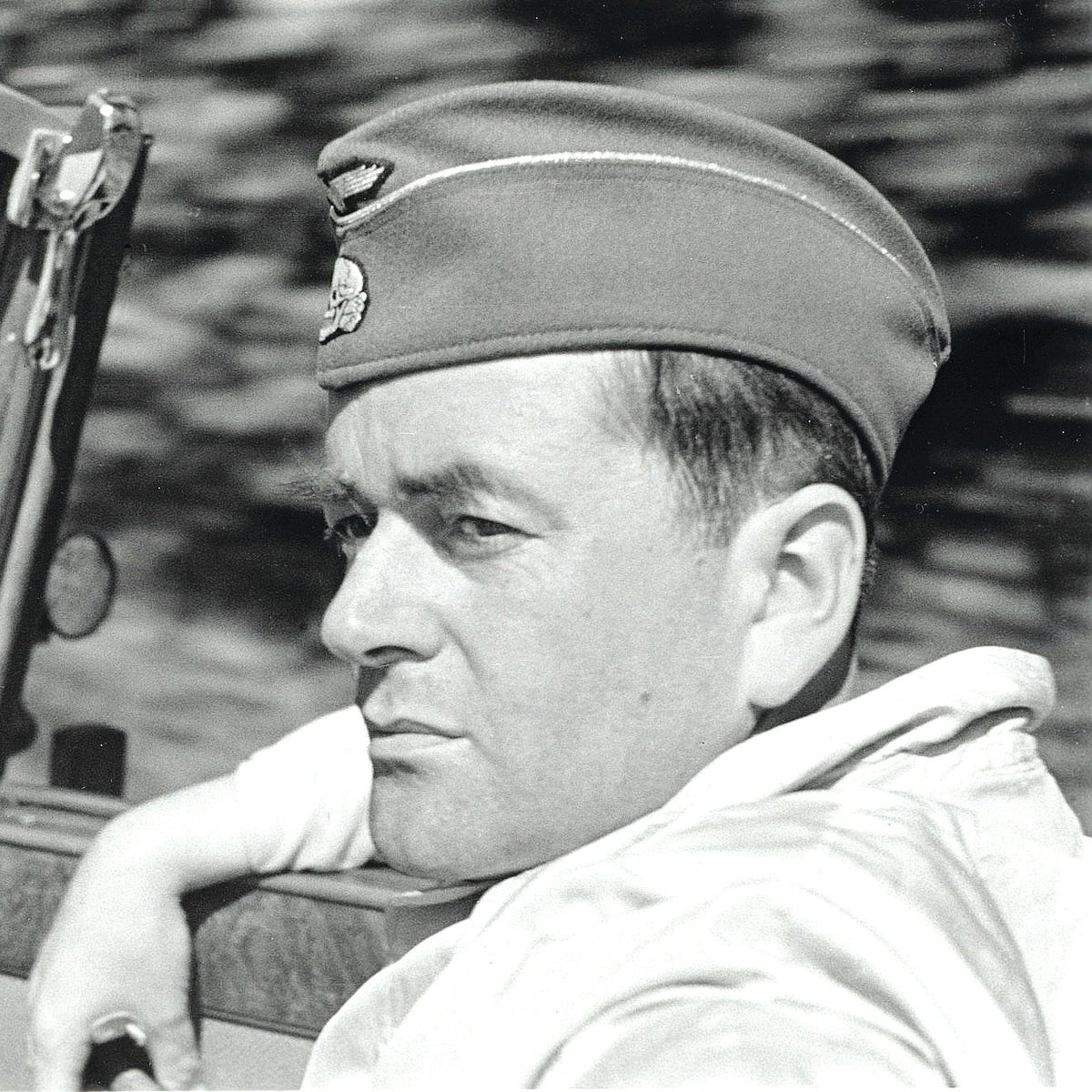 """A still from the documentary """"Speer Goes to Hollywood,"""" about Nazi war criminal Albert Speer."""