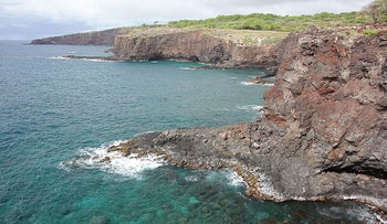 The south coast of the island of Lanai in Hawaii in 2008.