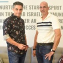 Fadi Swidan and Itzik Frid, the managers of the VC fund Takwin.