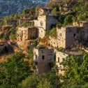 The abandoned Palestinian village of Lifta, in June.