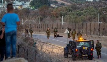 Soldiers searching on Wednesday for the six inmates who escaped Gilboa Prison.