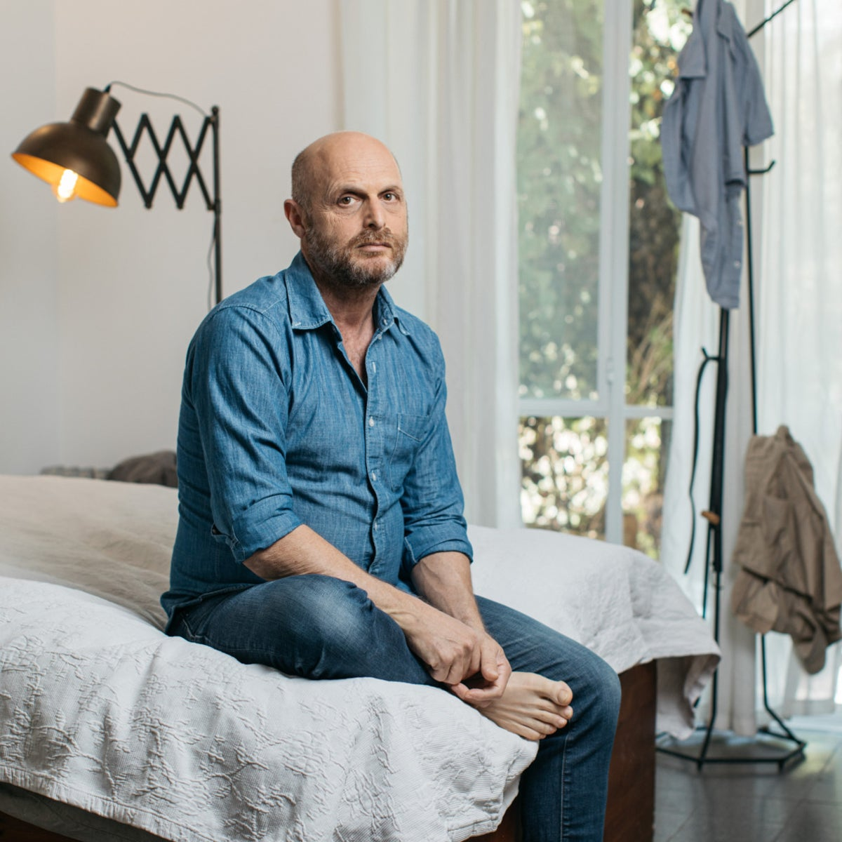 Hagai Levi, at home in Tel Aviv. 'I received an email from a man named Daniel that read 'Hello, I'm Ingmar Bergman's son.''