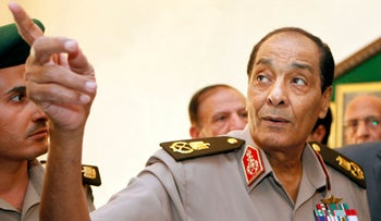 Mohammed Hussein Tantawi at the Defense Ministry in Cairo, in 2011.