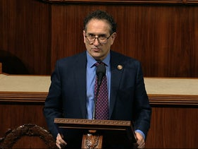 Democratic Rep. Andy Levin speaking in Congress two years ago.