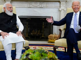 President Joe Biden meets with Indian Prime Minister Narendra Modi in the Oval Office of the White House last week in Washington D.C.