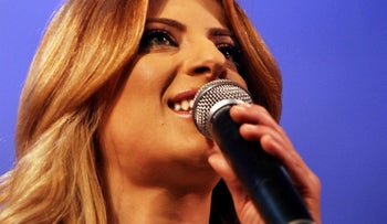 Sarit Hadad, one of Israel's most popular singers, who came out a gay earlier this week.