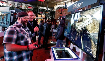 A Playstation event in New York, 2014