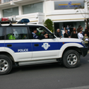 File photo: Police in Cyprus.