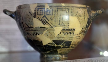 Mocking Homer: The enigmatic Nestor's Cup