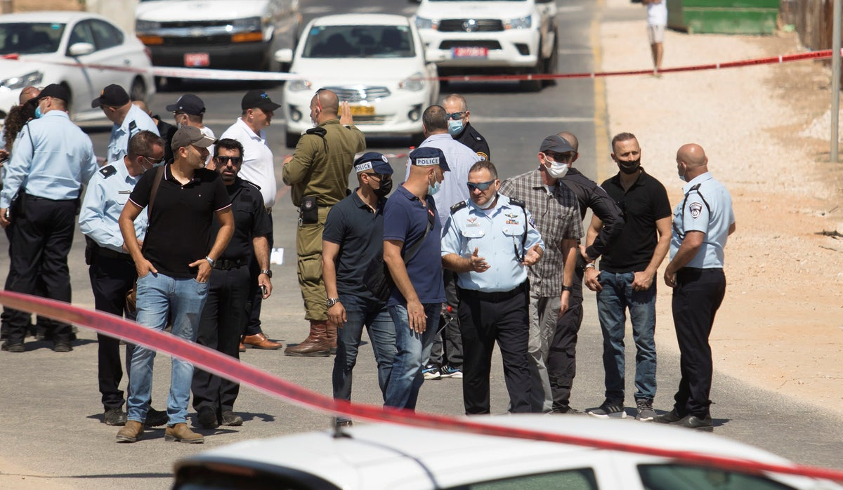 Israel charges man who killed cop, injured another in ramming attack with murder