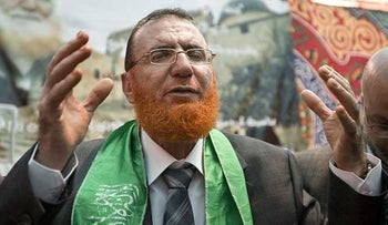 Hamas' Mohammed Abu Tir at his East Jerusalem home after his release from an Israeli jail, May 20, 2010. Israel revoked his Jerusalem residency and he is now imprisoned without charges.