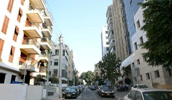 Real estate properties in Tel Aviv.