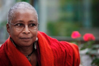 Author Alice Walker.