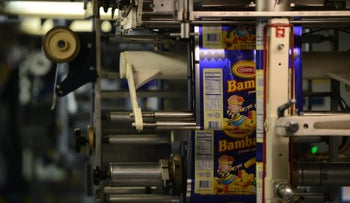The wildly popular peanut-buttery treat sells over two million bags a month.