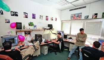 Israeli high-tech workers. Rare is the Ethiopian-Israeli among them.