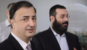 Lev Leviev, the controlling shareholder of Africa Israel.