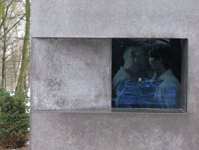 The Gay Holocaust Monument in Berlin