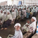 Members of the Falashmura community in Ethiopia in 2013, waiting to immigrate to Israel