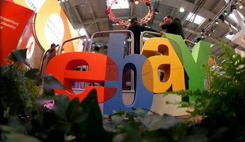 eBay has been wooing some of Israel's largest retailers of clothing, consumer electronics, cosmetics and eyewear to open online stores on the company's website.