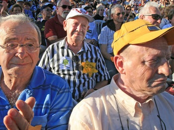 Holocaust survivors in Israel.