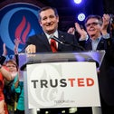 Ted Cruz on Super Tuesday in Stafford, Texas, March 1, 2016.