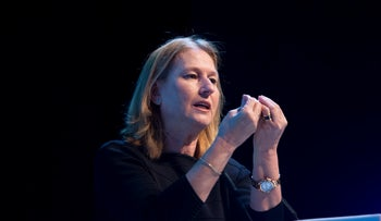 Tzipi Livni at the INSS conference in January 2017.
