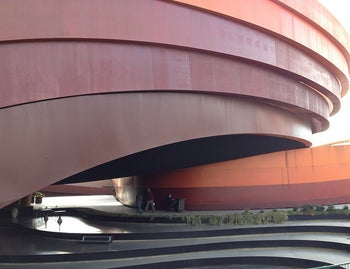 The Holon Design Museum, designed by Ron Arad, opened in 2010.