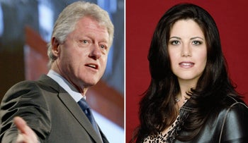 The affair that dogged Bill Clinton's final years in office: Will it also dog Hillary Clinton's pre-election debates with rival Donald Trump?