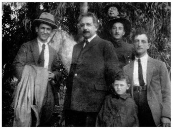 """""""Einstein in the Holy Land."""" The attitude Zionists adopt toward the Arab minority will provide the real test of their moral standards as a people, he wrote."""