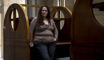 """Noa Sattath. """"We tend to forget that most of the gay community in Israel is still in the closet,"""" she says. """"That's especially true when it comes to Arab and ultra-Orthodox society."""""""