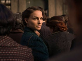 This image released by Focus Features shows Natalie Portman in 'A Tale of Love and Darkness.' Portman also wrote and directed the film.
