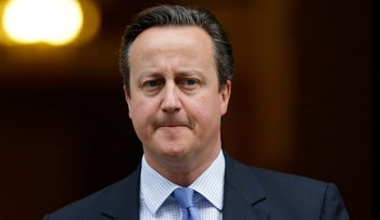 British PM David Cameron in London, December 2, 2015. Cameron's office says he will look into a lawmaker's claim that U.S. officials prevented a British Muslim family from flying to Disneyland for a planned holiday on December 15, 2015.