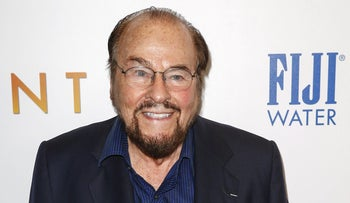 "James Lipton arrives for the premiere of the film ""Burnt"" in New York October 20, 2015."