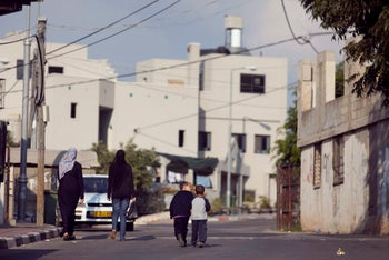 The northern Israeli village of Ar'ara, where the suspect in the deadly January 1, 2016 Tel Aviv shooting resides.