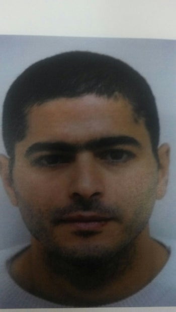 Up-to-date photo of suspected attacker Nashat Melhem released by police on January 4, 2015.