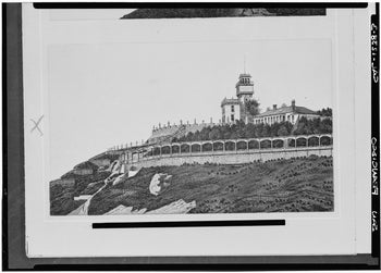 Adolph Sutro House, Point Lobos and 48th Avenue, San Francisco. From the Historic American Buildings Survey, Library of Congress Prints and Photographs Division Washington, D.C. 20540