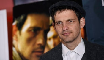 Geza Rohrig, the lead actor in 'Son of Saul', poses at the Golden Globe Foreign-Language Film Symposium at the Egyptian Theatre, Los Angeles, U.S., January 9, 2016.