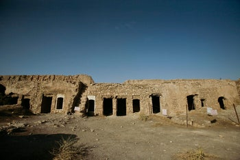 This 2008 photo shows St. Elijah's Monastery on the outskirts of Mosul, Iraq.