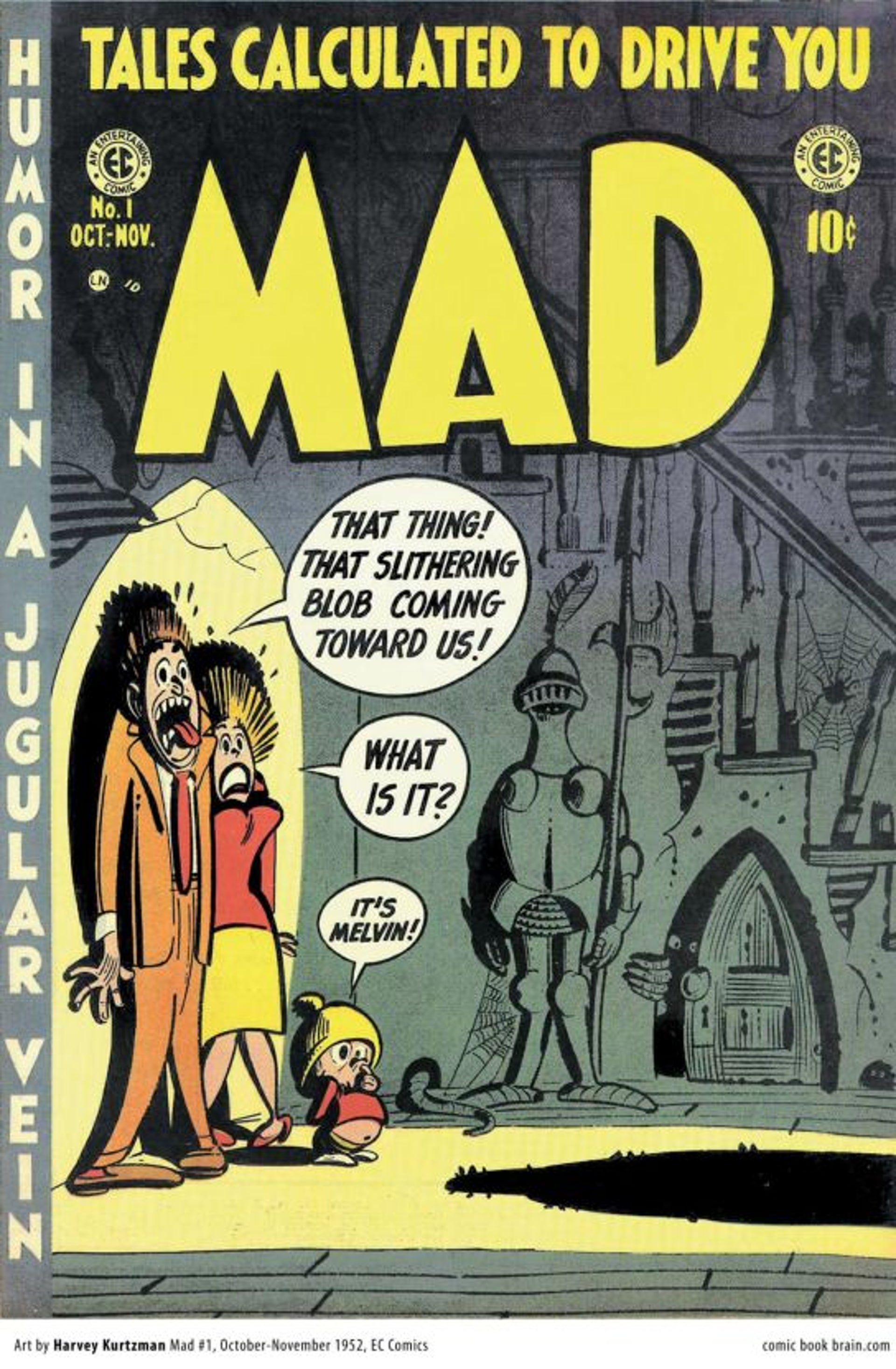 The first MAD magazine, 1952.